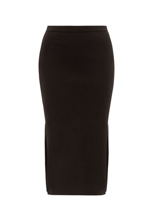 Lara Pencil Skirt in Black