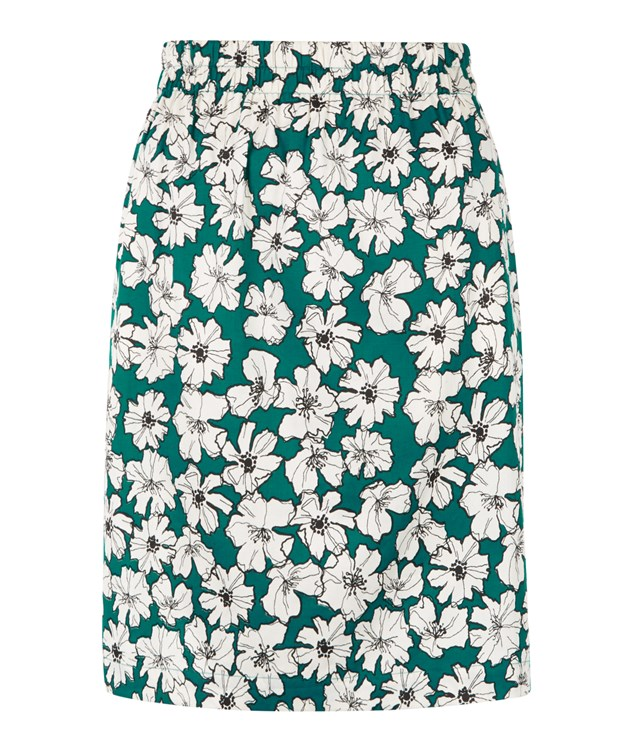 Lauren Skirt in Green
