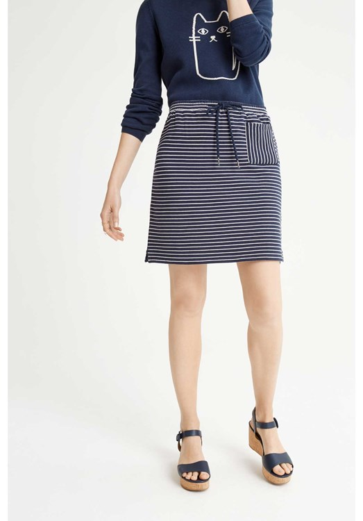 Lia Stripe Skirt from People Tree