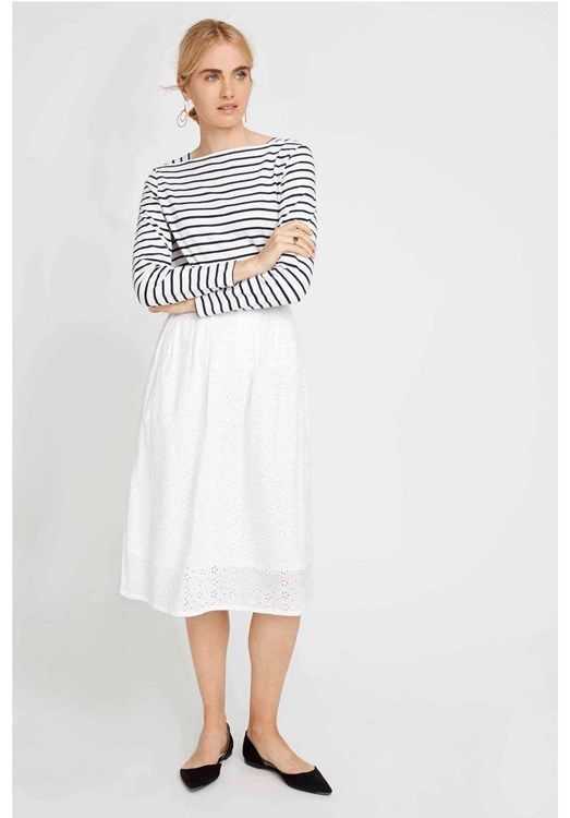 Shanna Broderie Skirt from People Tree