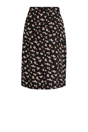 Thandie Blue Floral Skirt