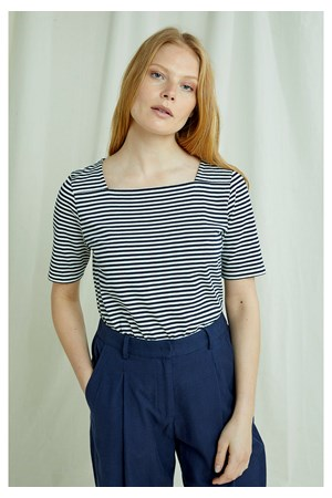 Abigail Stripe Top