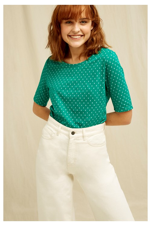 Alanis Motif Top from People Tree
