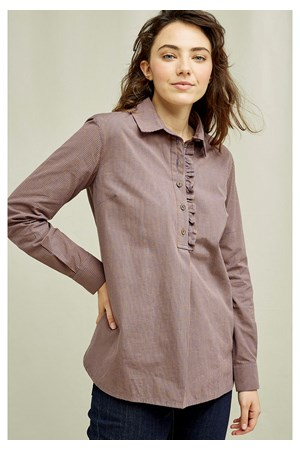 Amara Mini Check Shirt
