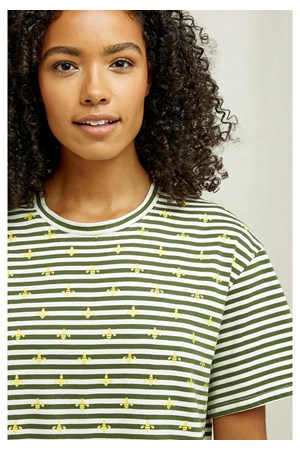 Bee Stripe Tee