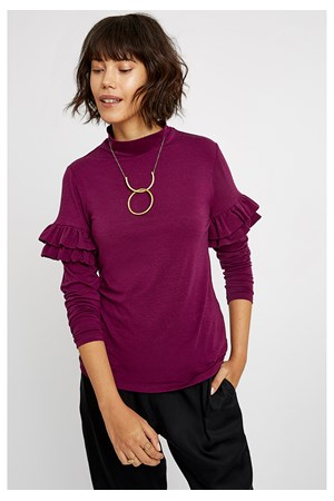 Cecilia Top in Purple