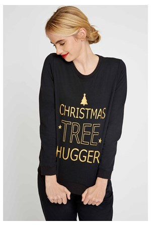 Christmas Tree Hugger Sweatshirt