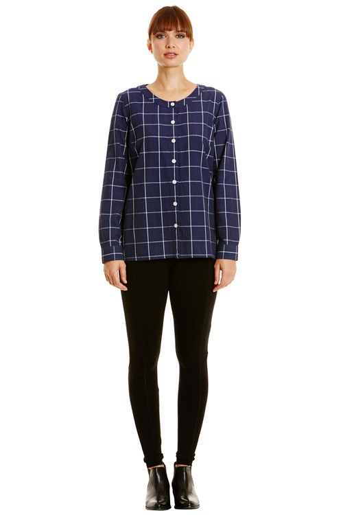 Clare Check Shirt from People Tree