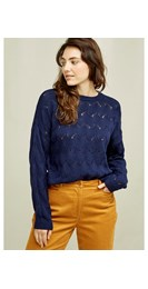 /women/clyde-lace-knit-jumper-in-navy