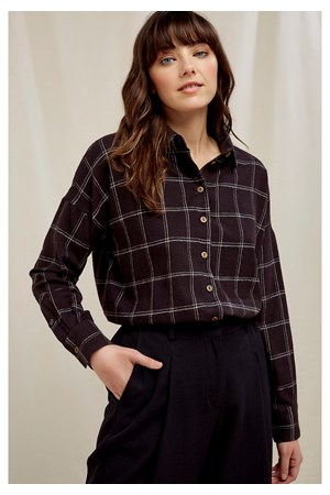 Elodie Checked Shirt