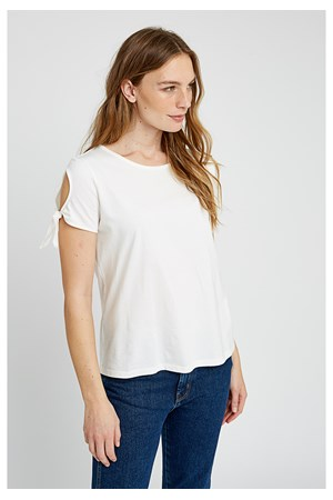 Emery Top in White