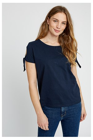 Emery Top in Navy