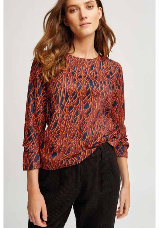 Emily Abstract Top