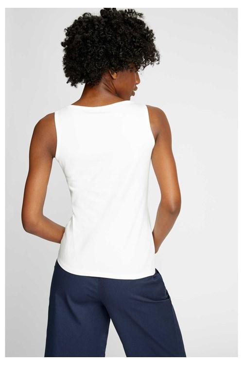 Estelle Vest In White