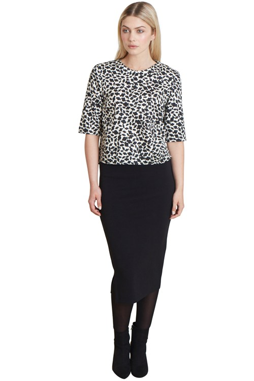 Fiona Top in Black from People Tree