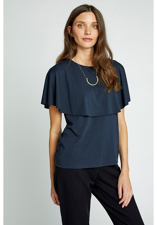 Frankie Top in Navy