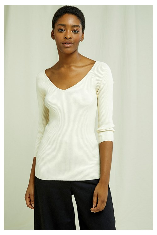 Gabriela V neck Jumper