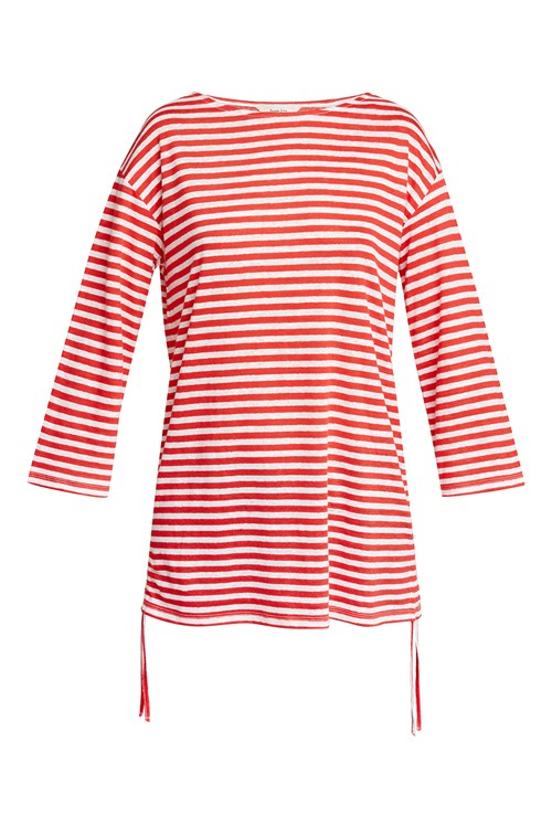 Giselle Stripe Linen Top