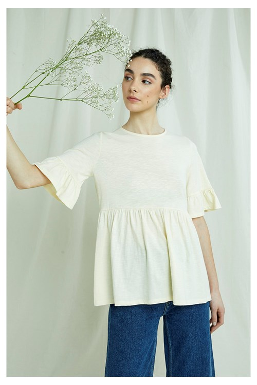 Grace Top In Cream