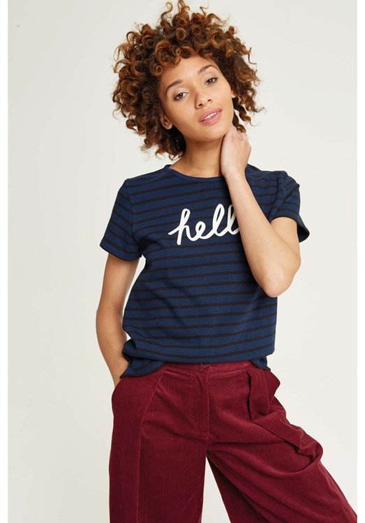 Hello Stripe Tee