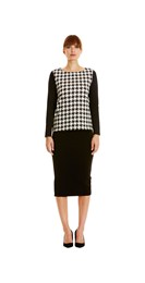 /new-in/Houndstooth-Print-Top-in-Black
