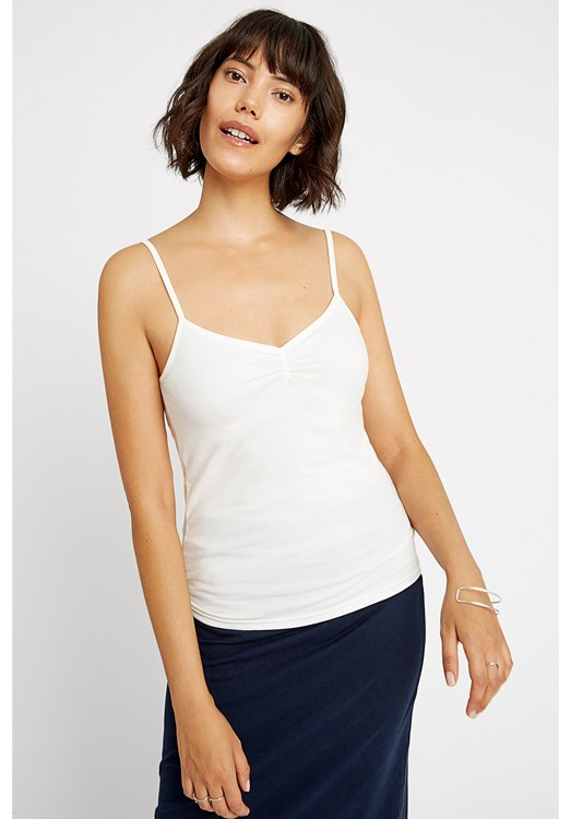 Jemma Camisole Top in White