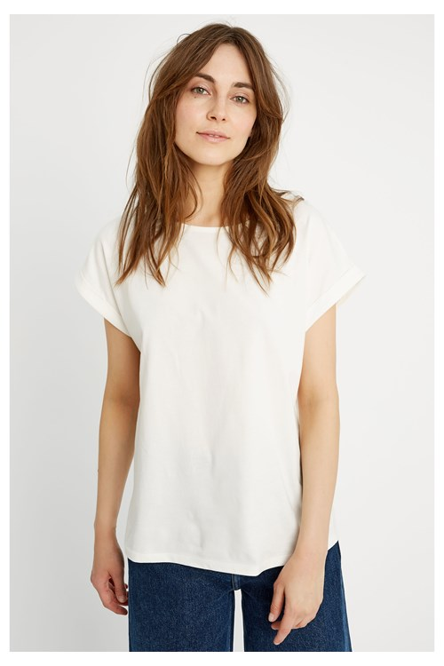 Jodie Top in White from People Tree