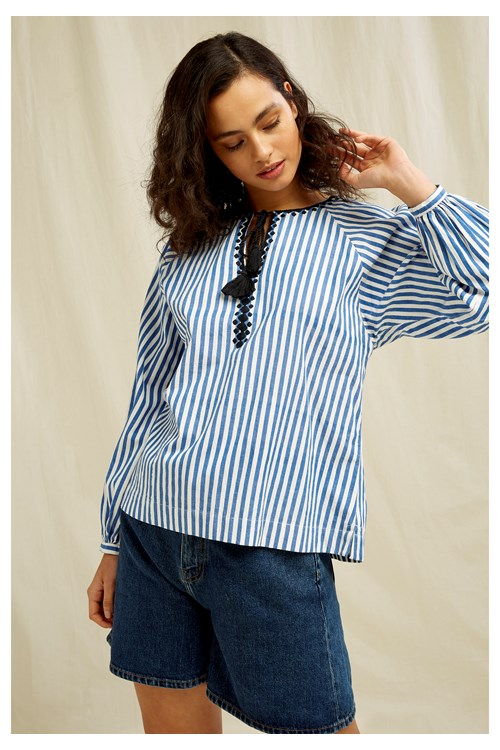Justine Stripe Top