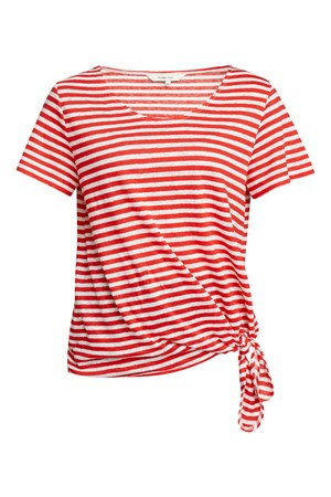 Kirstie Stripe Linen Top