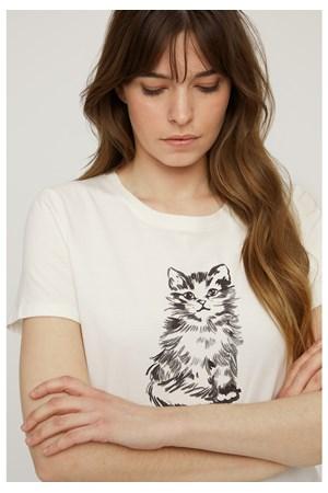 31350fcc Kitten Print Tee