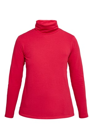 Laila Roll Neck Top in Pink