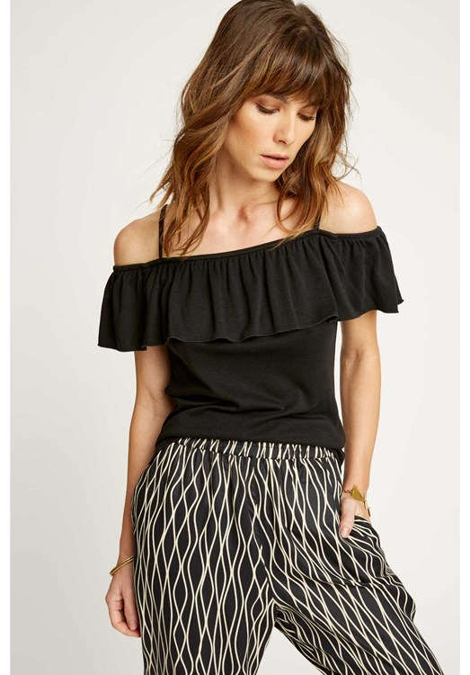 Michelle Top in Black from People Tree