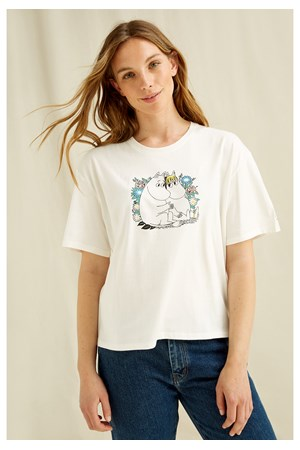 Moomin Couple Print Tee
