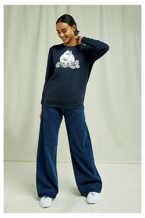 Moomin Sweatshirt In Navy