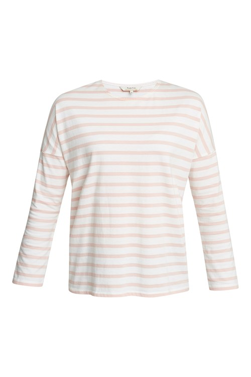 Nerissa Stripe Top in Pink
