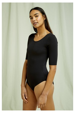 Nicole Bodysuit in Black