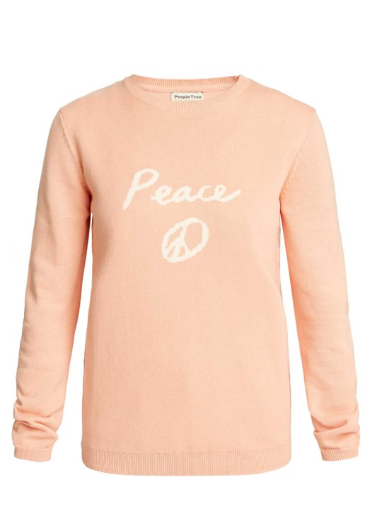 Peace Jumper in Pink