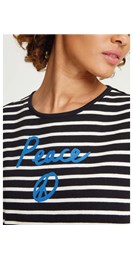 /new-in/peace-stripe-tee-black