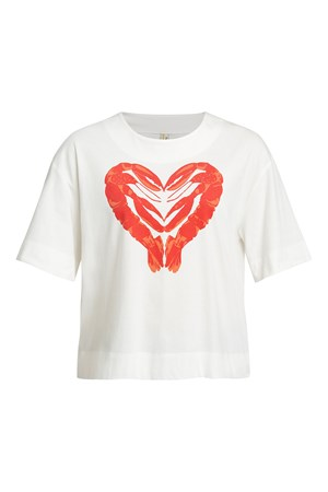 Peter Jensen Lobster Heart Tee