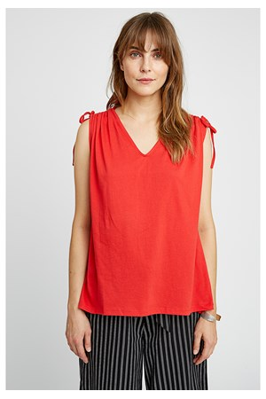 Rowan Top in Red