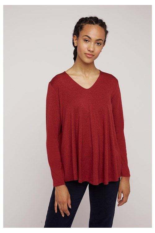 Sonya Top in Red from People Tree