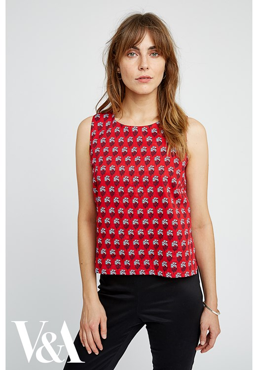 V&A Esther Print Top