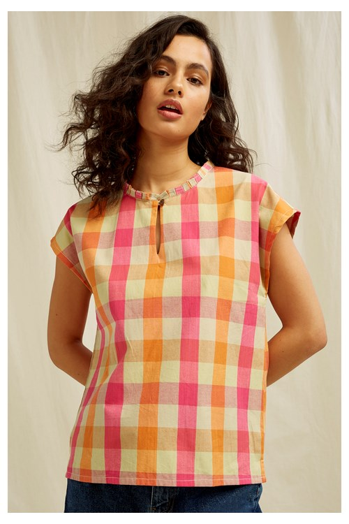 Vera Check Top from People Tree