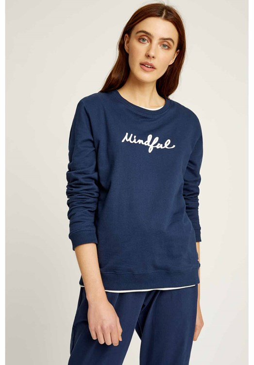 Yoga Mindful Sweatshirt from People Tree