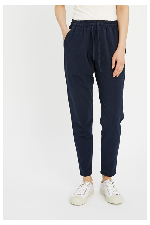 Sasha Trousers in Navy from People Tree