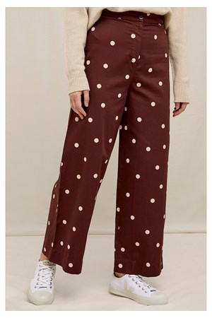 Ailsa Polka Dot Trousers