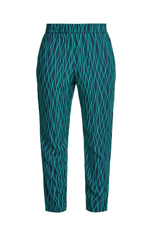 Aina Abstract Trousers in Green