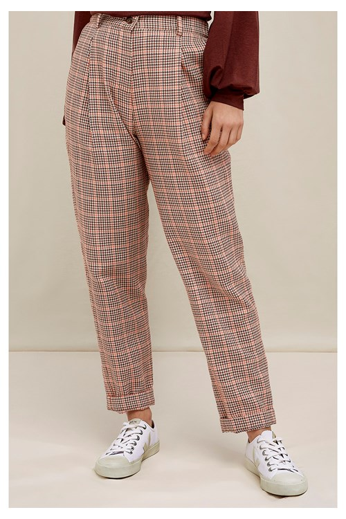 Annis Houndstooth Trousers