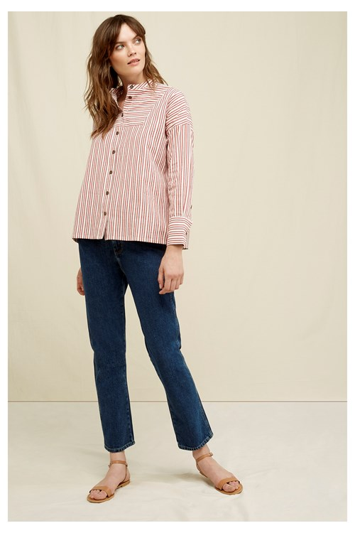 Cecile Straight Leg Jeans from People Tree
