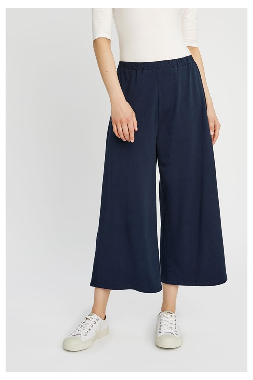 Chandre Trousers in Navy from People Tree